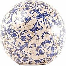 Esschert Design Dekokugel, Gartenkugel aus Keramik