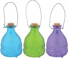 Esschert Design EG19 Wespenfalle Hobnail Glas, 3