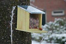 Esschert Design Eichhörnchen Futterhaus