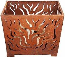 Esschert Design Feuerkorb, Feuerstelle, in rost,