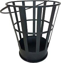 Esschert Design Feuerkorb schwarz