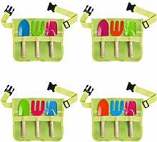 Esschert Design Kindergürtel mit Gartengeräte,