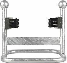 Esschert Design lh206verzinktem Schuhabstreifer & Pinsel, kleiner