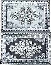Esschert Design Outdoor Teppich (Perser - Muster,