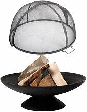 Esschert Design Set: Feuerschale, Feuerstelle auf