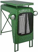 Esschert Design Traktortisch aus Metall, 100 x 67
