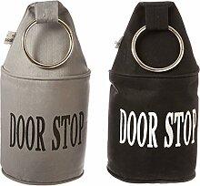 Esschert Design Türstopper, Türpuffer mit Ring,