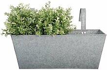 Esschert-Design-Zink-Balkon-Blumentopf - 40x
