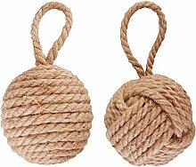 Esschert LH162 Türstopper Seil sortiert, Schnürchen, 14 x 13 x 13 cm