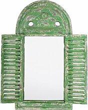 Esschert WD12 Spiegel Louvre verwittertes, grün