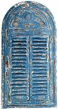 Esschert WD13 Spiegel Louvre verwittertes, blau