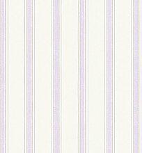 Essener Floral Prints Vinyltapete PR33853 Creme Flieder Beige Streifen Landhaus gestreif