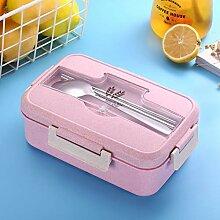 Essensbox 1.1L Weizenstroh Lunchbox Gesunde