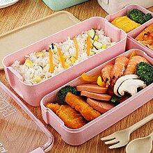 Essensbox 3 Schicht kreativer Plastikbrotdosen