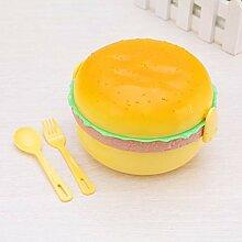 Essensbox Mikrowelle Lunch Box Netter Hamburger