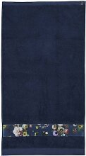 ESSENZA Fleur Handtuch Blau 70x140 cm