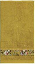 ESSENZA Fleur Handtuch Gelb 60x110 cm
