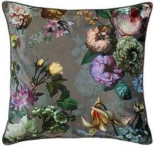 ESSENZA Fleur Taupe Dekokissen 50 x 50 cm