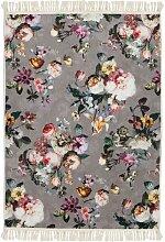 ESSENZA Fleur Teppich Taupe 60x90