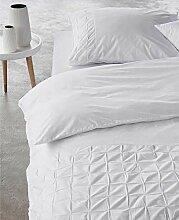 Essenza Premium INES White Bettbezüge Perkal 100%