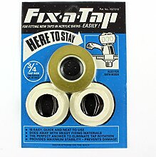 Essex BLUE Fix-a-Tap Tap Fitting Kit for 3/4 Taps or Bath Mixer - for Acrylic Baths. by Essex Fix-a-Tap
