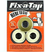 Essex ORANGE Fix-a-Tap Tap Fitting Kit for 1/2 Taps - for Ceramic Wash Hand Basin. by Essex Fix-a-Tap