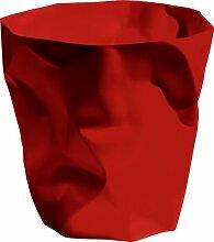 Essey Papierkorb Mülleimer Bin Bin, rot,