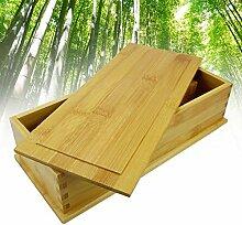 Essstäbchen-Aufbewahrungsbox aus Bambus,