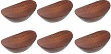 Essstäbchenablage aus Holz, für Gabel und