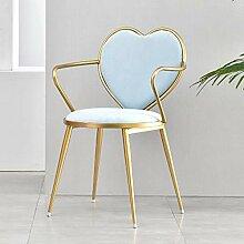 Essstühle Schmiedeeisen Stuhl Rückenlehne