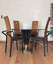 Esstisch & 4 Stühle Set von Pierre Cardin, 1970er
