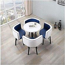 Esstisch, 5-teiliges Kaffeesofa-Sitz, modern,