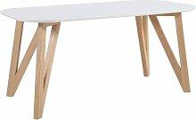 Esstisch Aiden Isabelline Farbe (Tischplatte):