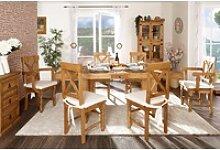 Esstisch - ausziehbar - original Mexico Möbel -