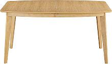 Esstisch ausziehbar skandinavisch aus hellem Holz