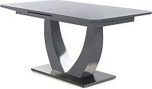 Esstisch ausziehbar ULM von Pro Com Grau / Grau Hgl
