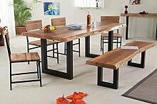 Esstisch Designer Tisch MASSIV BELLARY (200x100)