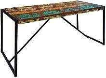 Esstisch im Shabby Chic Design aus altem Holz