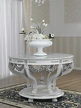 Esstisch Imperial Moderner Barock Stil weiß