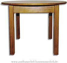 Esstisch Küchentisch Holztisch rund Massivholz