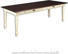 Esstisch Küchentisch Holztisch weiß Massivholz