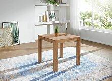 Esstisch Massivholz Akazie 80 cm Esszimmer-Tisch