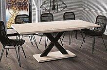 Esstisch Mila ausziehbar 130cm - 180cm Sonoma