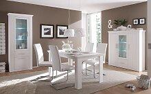 Esstisch mit Pinie Weiß              Esstisch