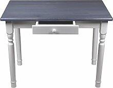 Esstisch mit Schublade Küchentisch Tisch Massiv