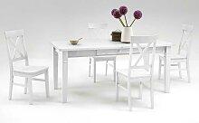Esstisch mit Stühlen im skandinavischen
