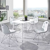 Esstisch mit Stühlen in Weiß modern (5-teilig)