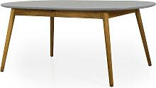 Esstisch - Scandi Oval - Ausziehbar - 180x105 cm -