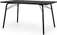 Esstisch - Scuro 140x80 cm - Schwarz