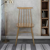 Esstisch Stühle im Retro Design Eiche Massivholz
